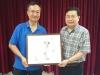 容蹎華老師及劉錦洪老師捐贈墨寶拍賣完滿結束